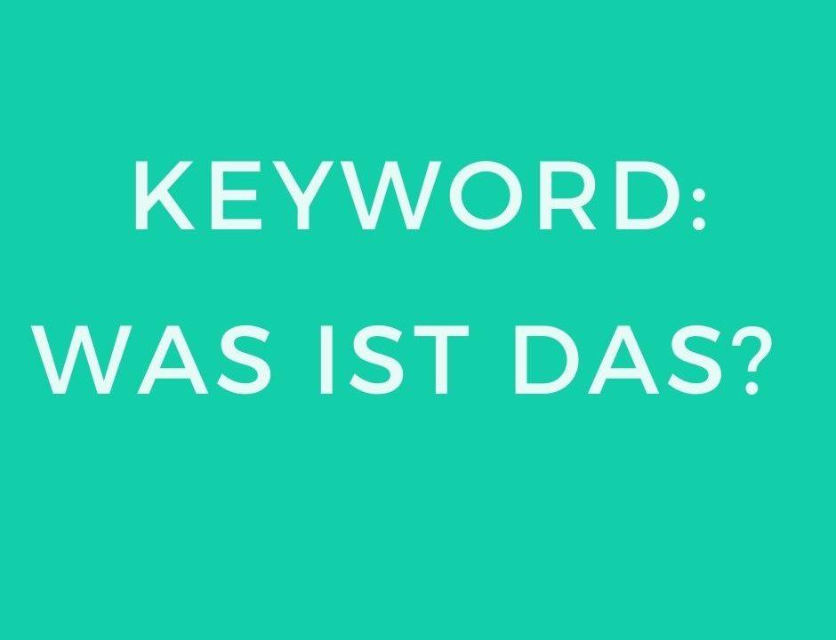 Keywords_Beitragsbild