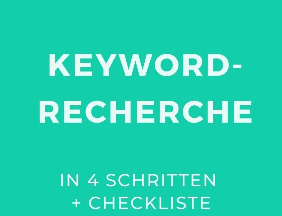 Keyword-Recherche_Beitragsbild