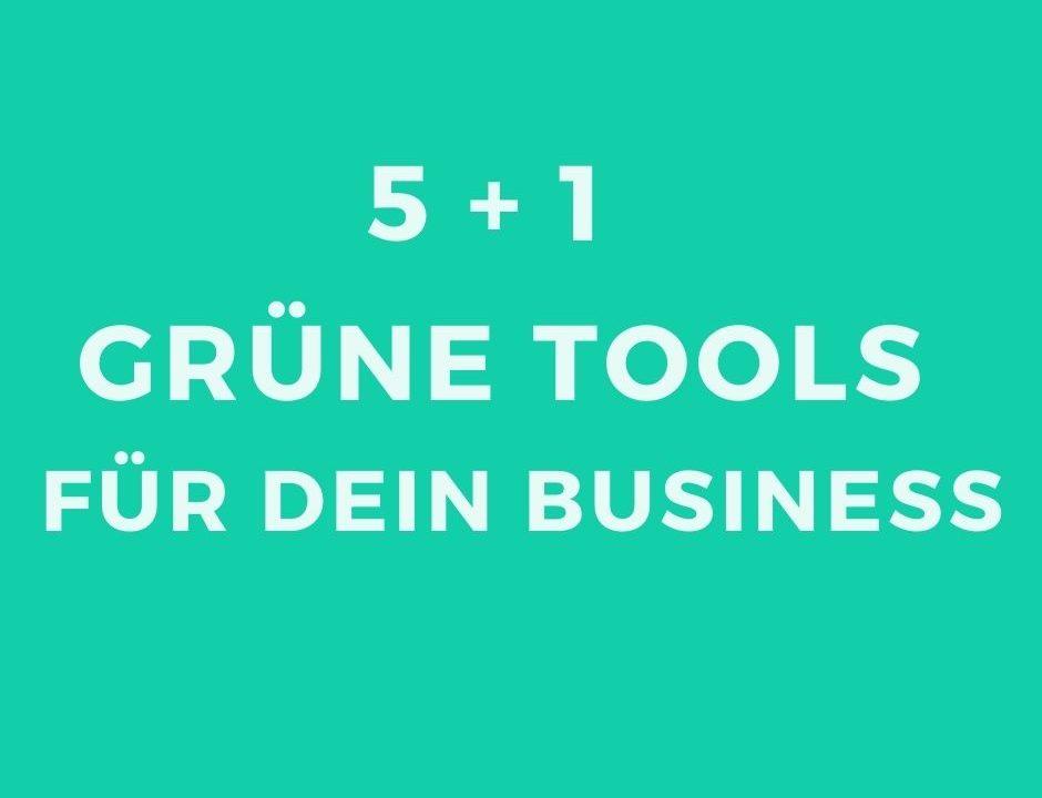 grüne Tools_ Beitragsbild
