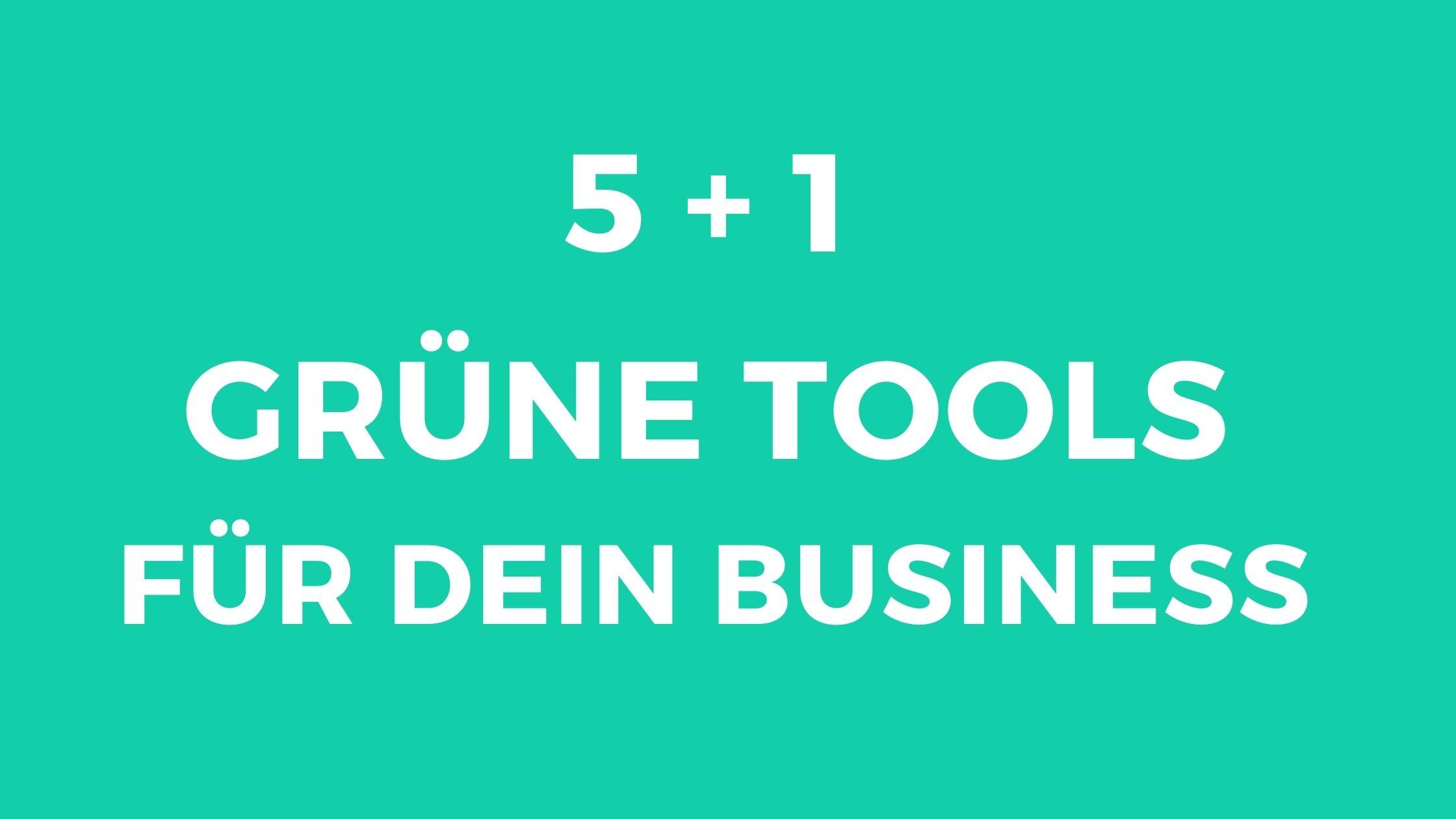 grüne Tools_Blogbanner