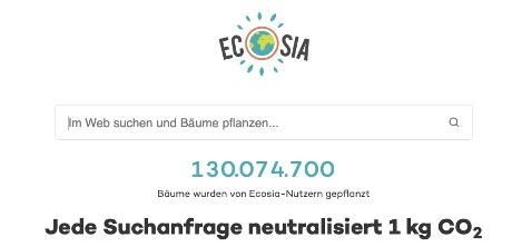 Ecosia vs. Google_Startmaske